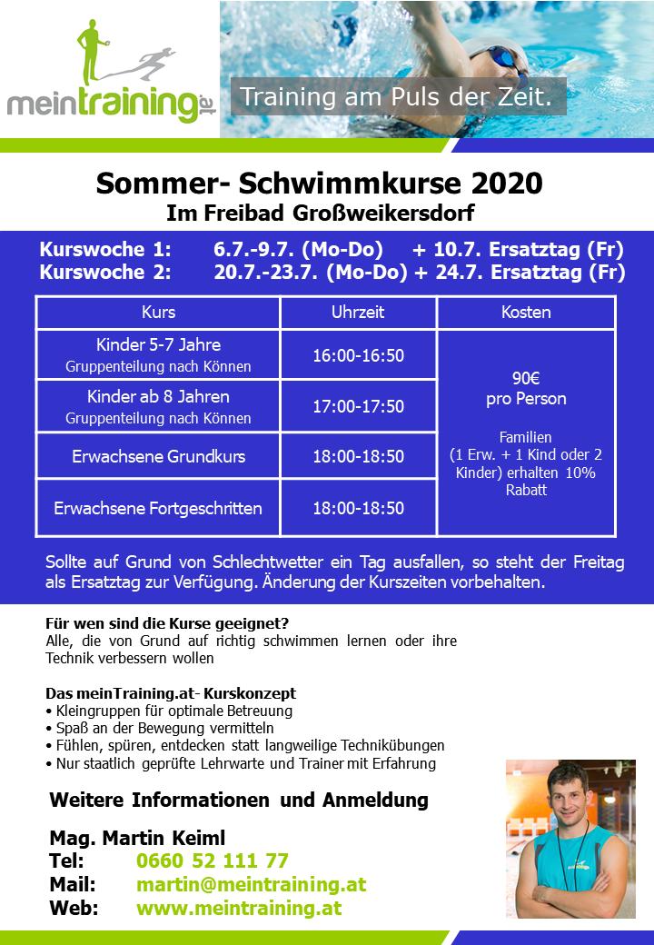 Flyer Grossweikersdorf 2020